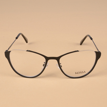Cat Eye Women Metal Optical Glasses Frame Female Personality Myopia Frame Cool Eyeglasses Lady Cateye Spectacle Casual Eyewear