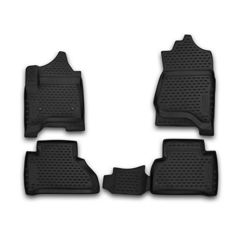 цена на Car Mats 3D salon For CHEVROLET Tahoe 2015->, 4 PCs (polyurethane)