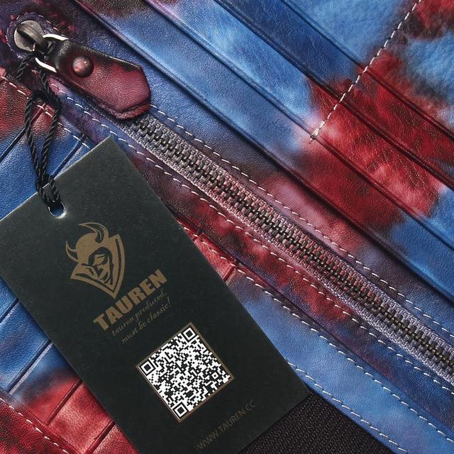 женская кисточка на молнии винтажный клатч из натуральной яловой фотография
