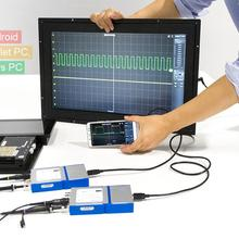 2 CH USB PC виртуальный цифровой осциллограф 20 м пропускная способность 50 MSa/s Samplinmg Скорость Поддержка Android телефон