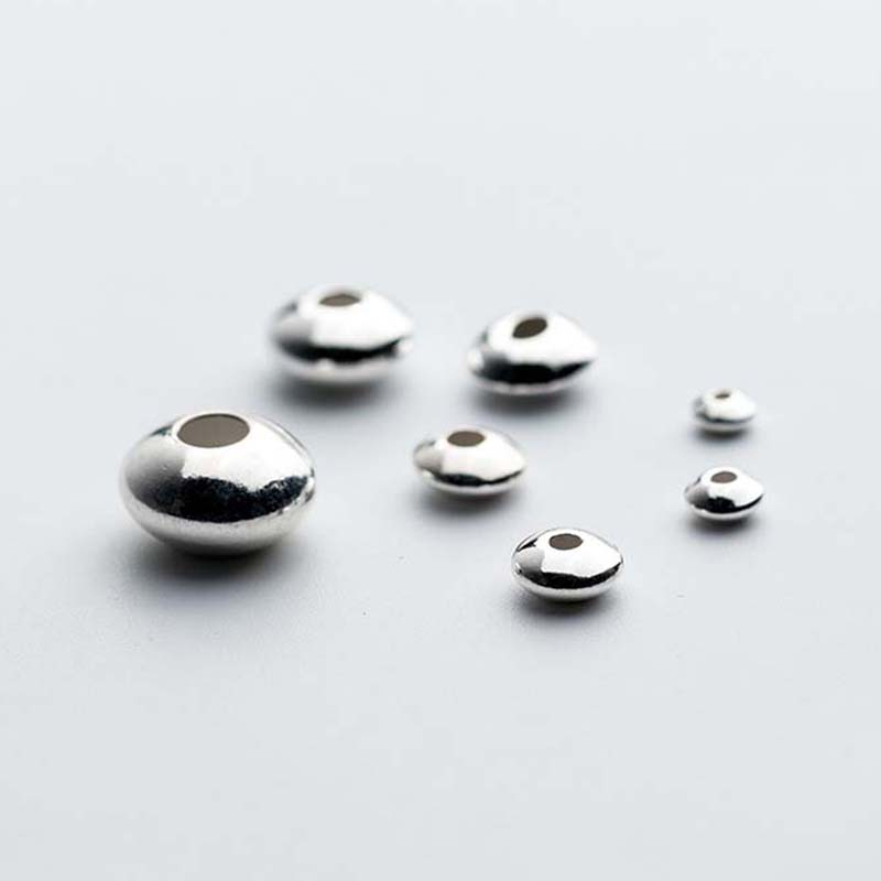 Made in USA 10 3mm Sterling Silver Smooth Round Beads