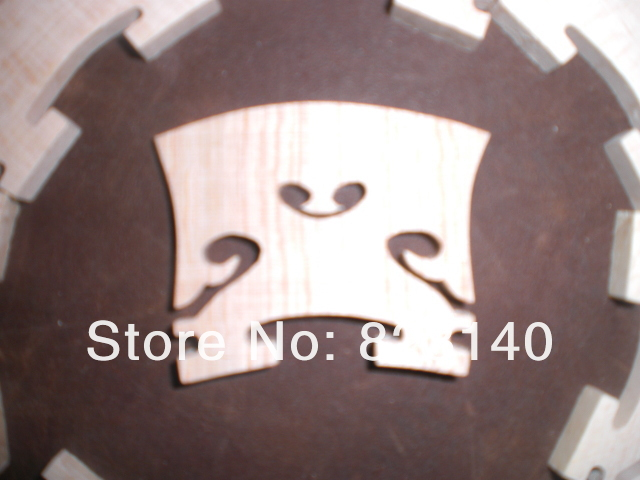 100 PCs Baroque Violin bridge 4/4, violin bridge 002#