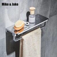 Весь Латунь ванная комната полка с полотенцем барная стойка латунь showerroom держатель полки ванной корзины душевая всасывания настенные полк