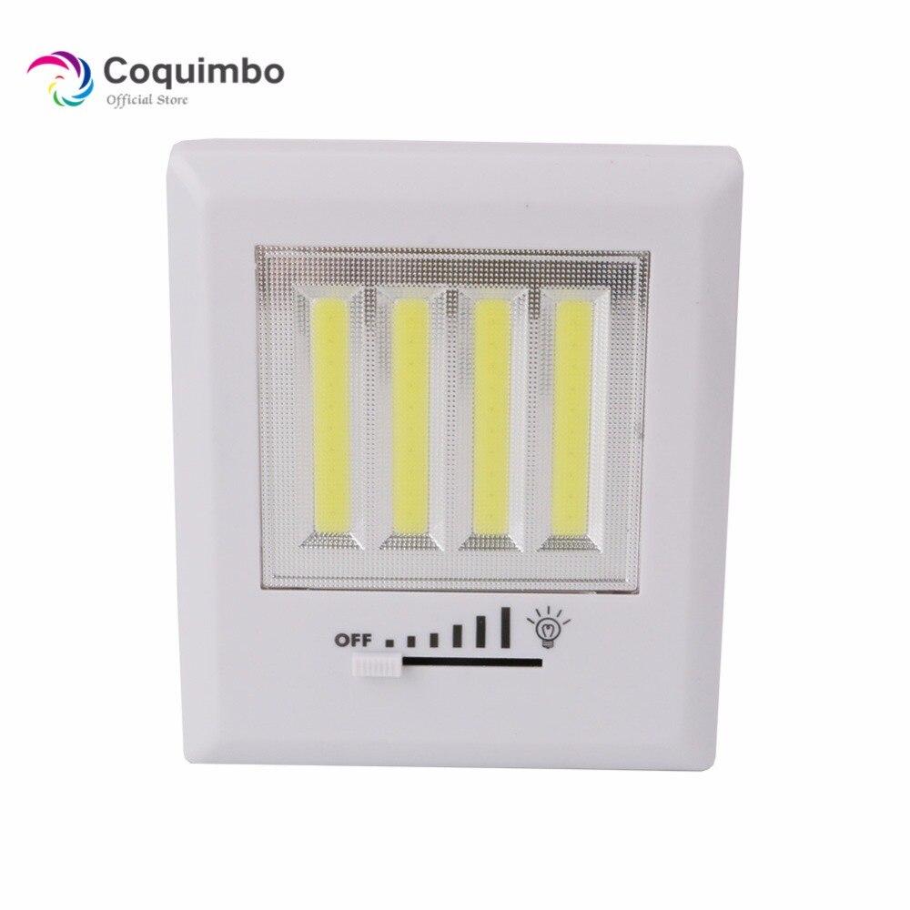 Led Garage Lights Battery: Lighting For Garage Magnetic COB LED Cordless Lamp Switch