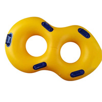 New Creative 120x60cm Inflatable Swimming Ring Pool Floating Ring with Handrail for Summer Beach Swimming Pool Party