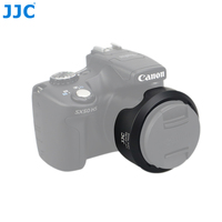 JJCLH JDC60 ABS Camcorder Lens Camera Lens Hood Replaces CANON LH DC60 WIth One Year Warranty