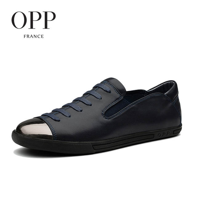 b1147bff2d8c US $153.6 |OPP 2017 Summer Mens Shoes Loafers For Men Genuine Leather Flats  Shoes Casual Shoes Natural Men's Leather Loafers New footwear-in Men's ...