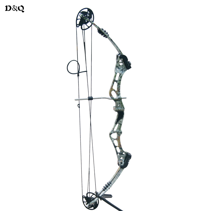 Adjustable 50-60lbs Archery Compound Bow for Outdoor Hunting Target Shooting Fishing Sport Games Aluminum Alloy Slingshot Bow 50lbs archery compound bow left right handed for hunting target shooting competition sport slingshot bow camouflage black color