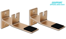 ( 1 pair ) Aluminum Alloy material for xiaomi3 Audio Speaker Mount Bracket TV3 Host Rack Frame