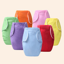 1pcs Soft Covers Washable nappy changing Free Size Adjustable for Winter Summer Reusable Baby Infant Nappy Cloth Diapers ED5236(China)