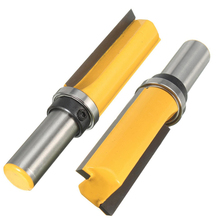"1pcs 3/4""W X 2""H Flush Trim Pattern Router Bit 1/2"" Shank Router Bit Wood Cutter For Milling Tool"