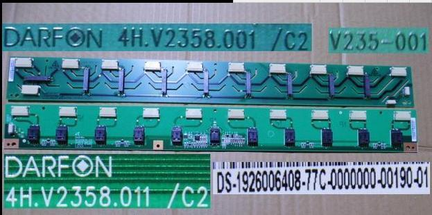 4H.V2358.011/C2 4H.V2358.001/C2  LCD T-CON Board LOGIC  board for screen LA40S81B   A+