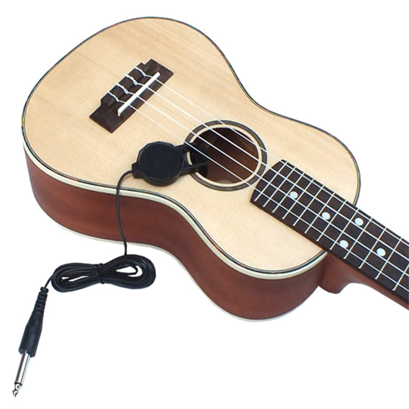 Professional Acoustic Ukulele Violin Pickup Microphone Electric Folk Wooden Hawaiian Guitar Sound Transducer Amplifier