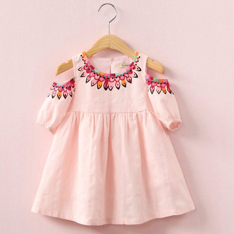 2018 vestido de verano de la nueva muchacha bebé lindo partido ...