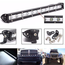 12 LED work light bar 36W led tractor work light off road 4X4 led offroad light bar spot working headlight lamp 12V 24V