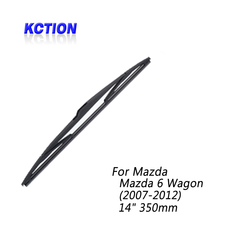 Car Windshield Rear Wiper Blade For <font><b>Mazda</b></font> <font><b>6</b></font> <font><b>Wagon</b></font> (2007-2012), Rear wiper,Natural rubber, Car Accessories image