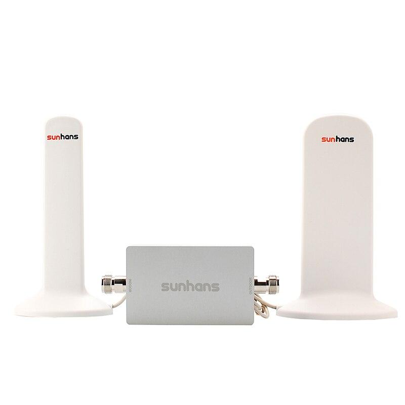 Высоким коэффициентом усиления оригинальный Sunhans DCS 1800 мГц повторитель сигнала 4G LTE мобильный телефон усилитель сигнала усилитель с кабелем