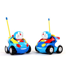 New kids electric cartoon remote control car with music baby kids toys Christmas birthday for girl