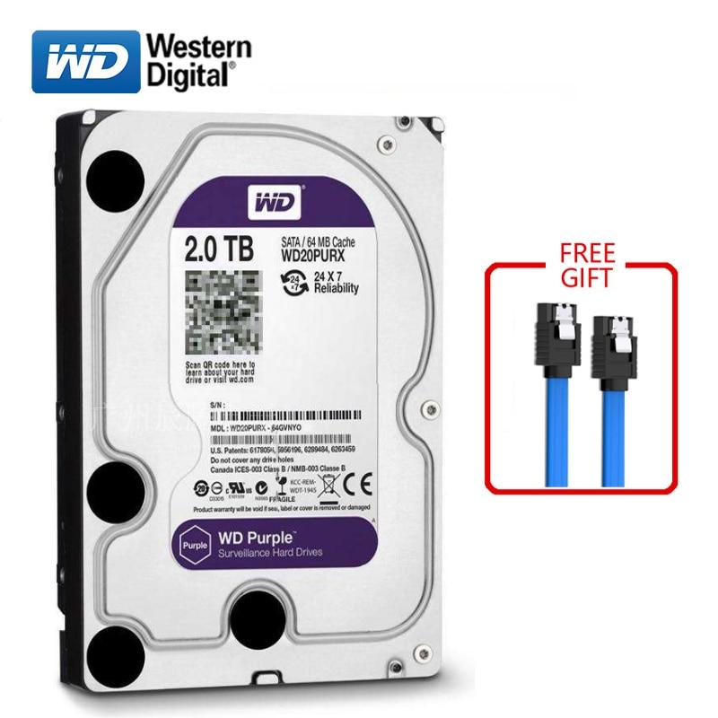 WD marque 2000 GB disque dur interne 3.5