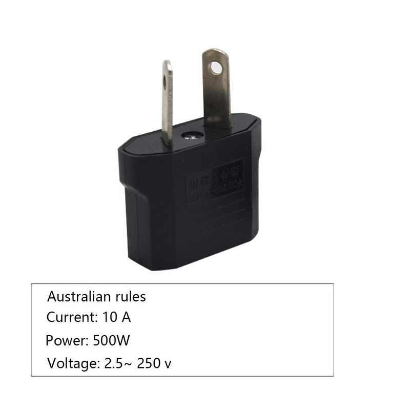 Hoomall 1PC AU ue wtyczką amerykańską Adapter AC/DC Adapter Adapter zasilania elektrycznego ładowarka gniazda Adapter konwerter zasilania