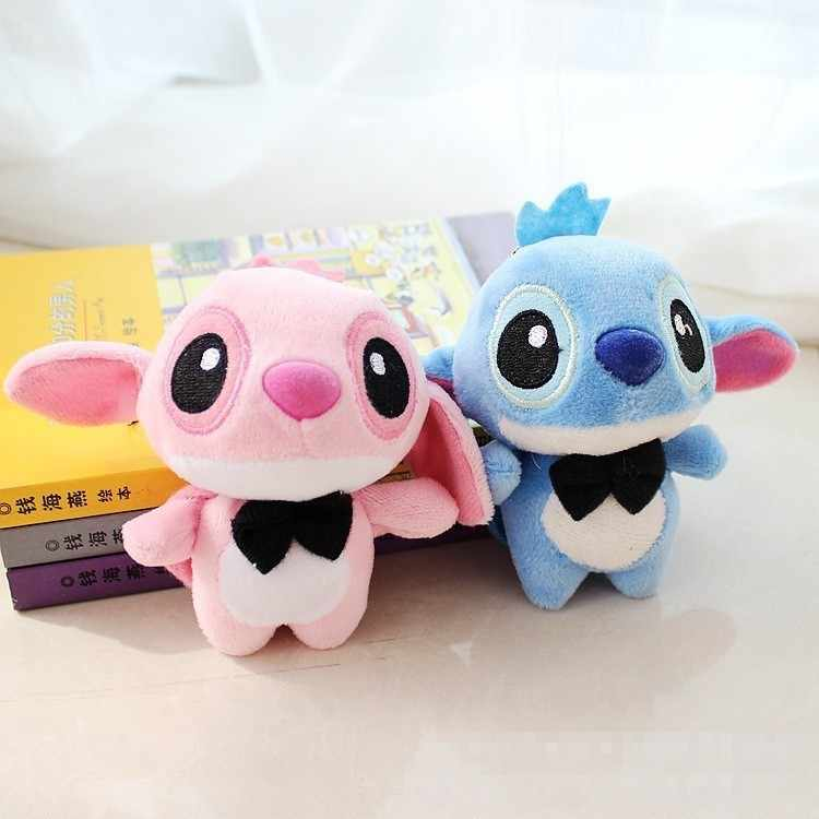 """Kawaii стежка плюшевые куклы игрушечные лошадки аниме """"Лило и Стич"""" мягкая кукла милый Стич мягкие игрушки для детей Дети подарок на день рождения"""