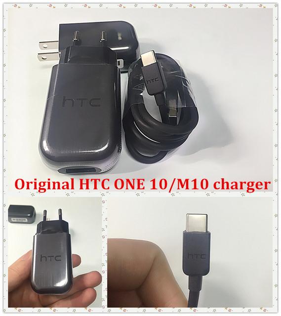 Para htc one 10/m10 original rápido carregador tc p5000 ue/eua QC 3.0 Adaptador de parede USB Com o Tipo de carga Rápida-base de Dados C cabo