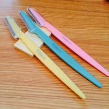 3 шт. недавно поступление модные Красота макияжа бровей Ножи бровей Триммер для бровей Бритвы инструменты триммер оборудования Му-128