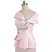 Mermaid Tail, Cap Sleeve, Satin Beaded, Slit Wedding Party Dress