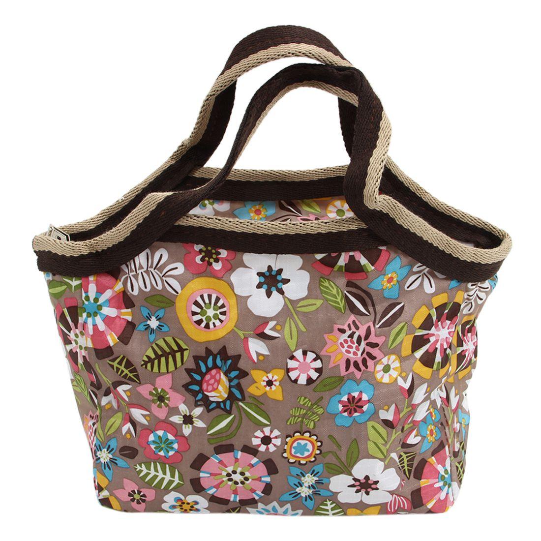2018 Lebensmittel Frisch Halten Lunch Box Tasche Nylon Wasserdichte Picknick Reise Lagerung Thermische Isolierte Mode Mittagessen Taschen
