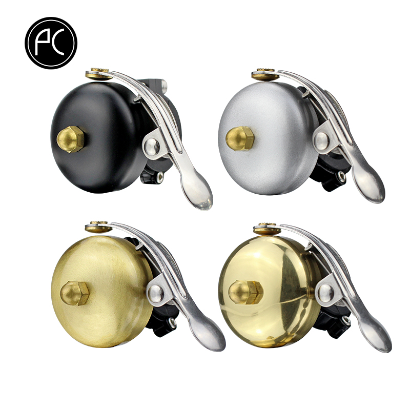 PCycling Bicycle Bell Manual Bell Child Bells Mini Thicker Brass MTB Mountain Bike Horn Safety Warning Fixed Gear Road Bike Bell