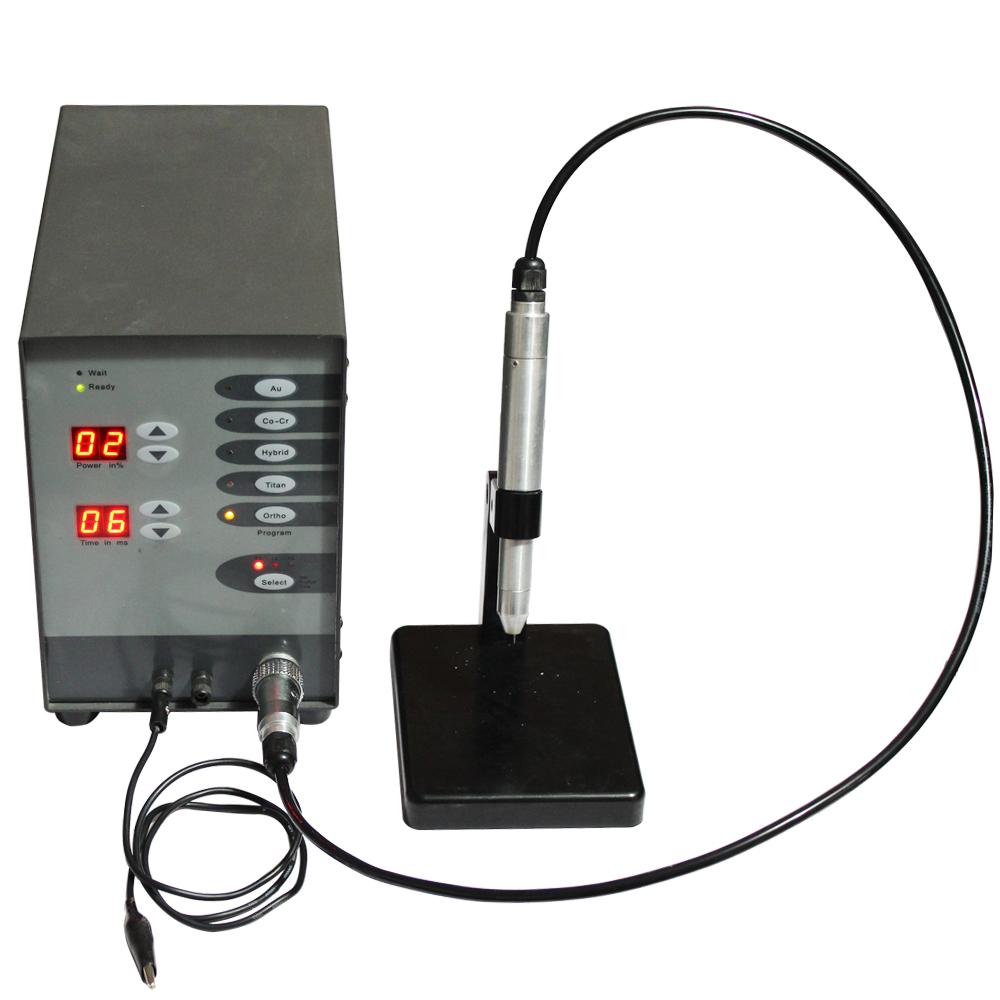 Jewelry Dental Spot Welding Machine Pulse Argon Arc Automatic NC Au Co-Cr Titan Hybird ortho Spot Welder 100W 220V цена и фото