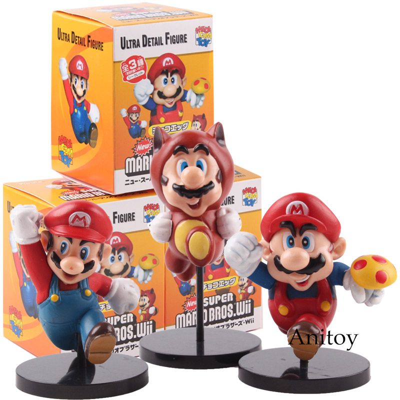 Super Mario Bros The Repairman Mario Vinyl Action Figure Collectible Model Toy