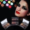 3 Colors Eyebrow Powder Palette Makeup Shading With Brush Mirror Box Eye Brow top  Quality Professional colors