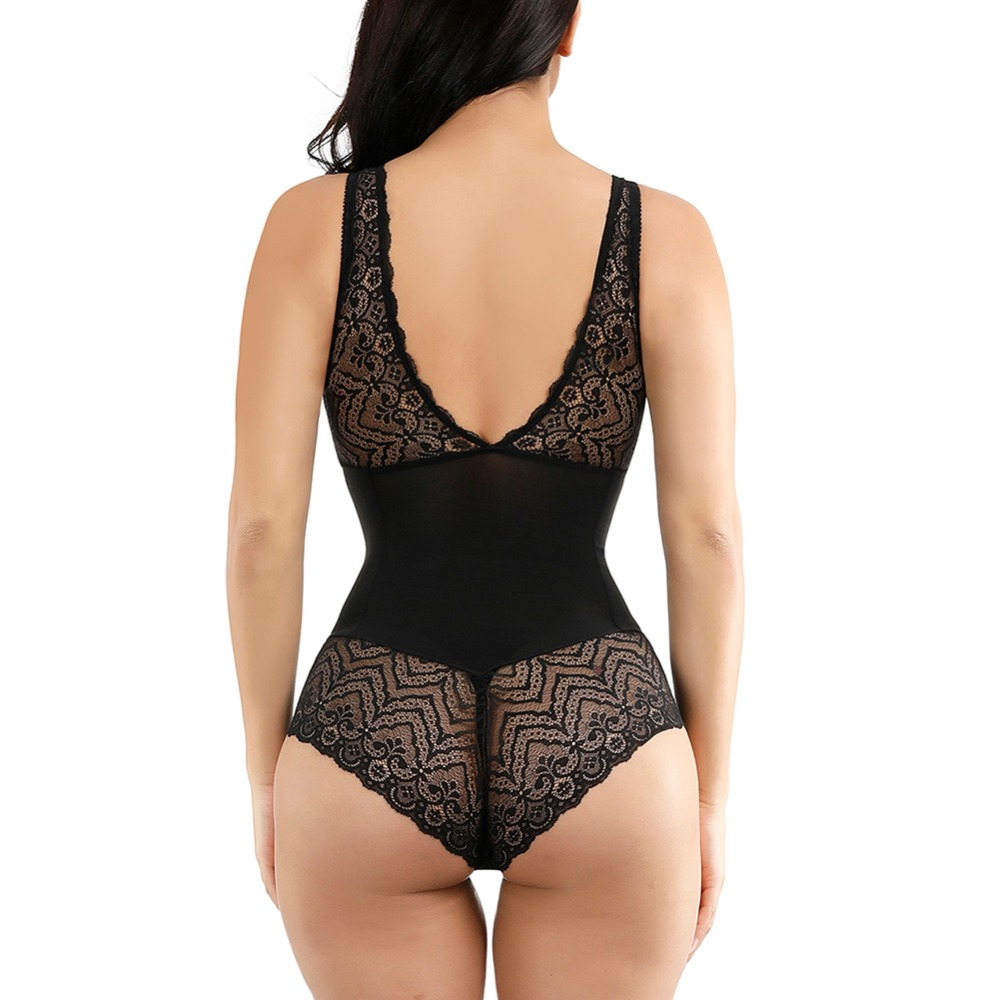 Image 4 - Lover Beauty Women Sexy Corset Postpartum Thin Waist Trainer Slimming Bodysuit High Quality Shapewear Underwear Body Shapers-in Bodysuits from Underwear & Sleepwears