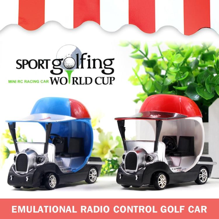Mini RC Coche de Golf 8011 Modelo de Juguete con Luz Mini Coche de Control Remot