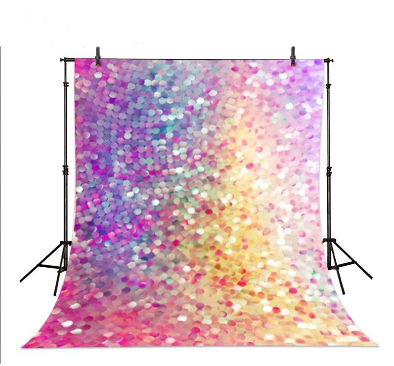 Colored Colorfull Sparkling Dots rainbow sequin photo studio background Vinyl cloth Computer printed wall  photo backdrop white marble photo backdrop vinyl cloth computer printed wall photo studio background
