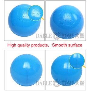 Image 3 - 200 قطعة/الحقيبة البلاستيك كرة أوشن صديقة للبيئة الملونة الكرة حفر مضحك طفل طفل السباحة لينة لعبة المياه بركة المحيط موجة الكرة ضياء 5.5 سنتيمتر