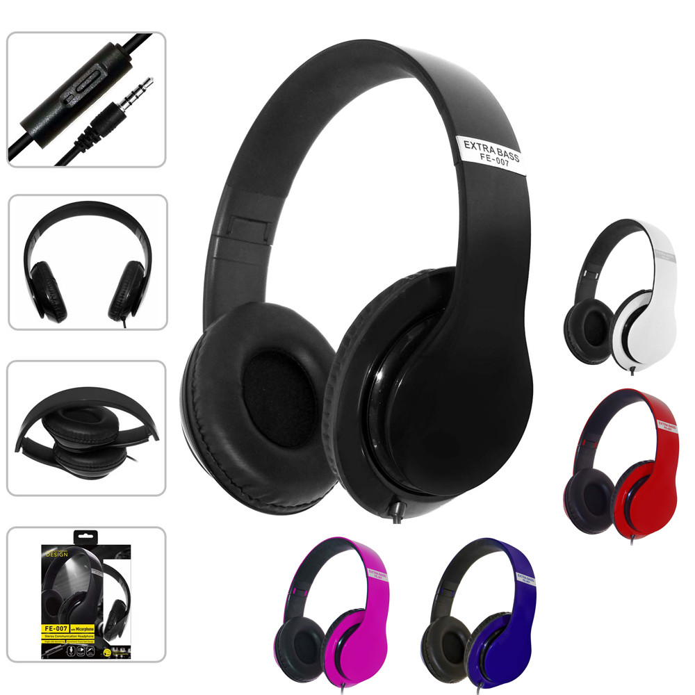 Portable Wired Professional Studio Pro DJ Headphones Over Ear HiFi Folding Music Headset Earphone For Phone PC oneodio professional studio headphones dj stereo headphones studio monitor gaming headset 3 5mm 6 3mm cable for xiaomi phones pc