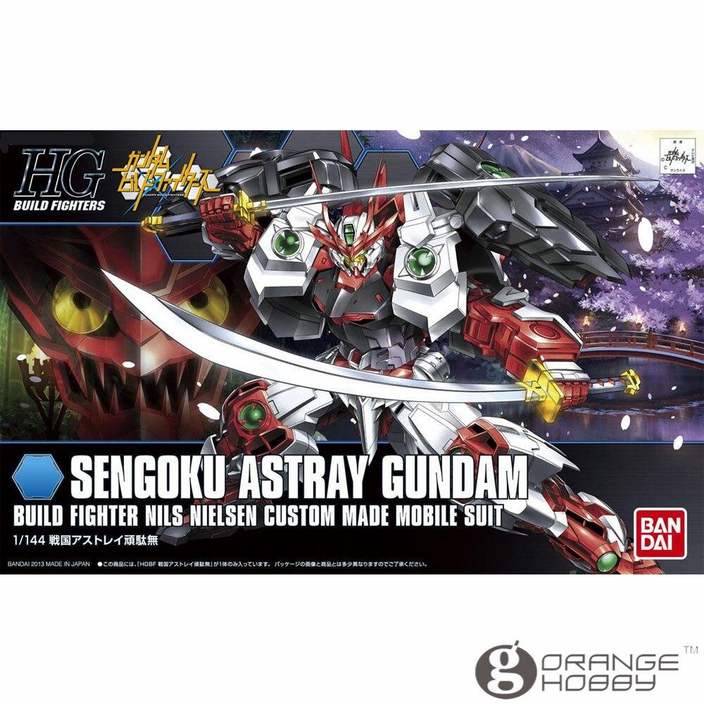 OHS Bandai HG Build Fighters 007 1 144 Sengoku Astray Gundam Mobile Suit Assembly Model Kits