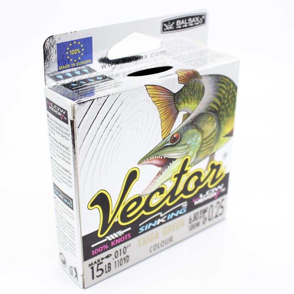 Balsax Vectar ribarska linija / pletenica, 4lb-48lb super moćna - Ribarstvo - Foto 3