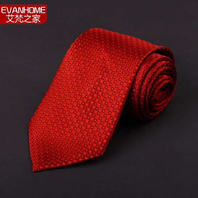 2016 Chegada Nova Garantido 100% de Seda Pura Laços Para Homens marca da Manta Gravata De Seda Vermelha Do Noivo Presente de Casamento Gravatas caixa