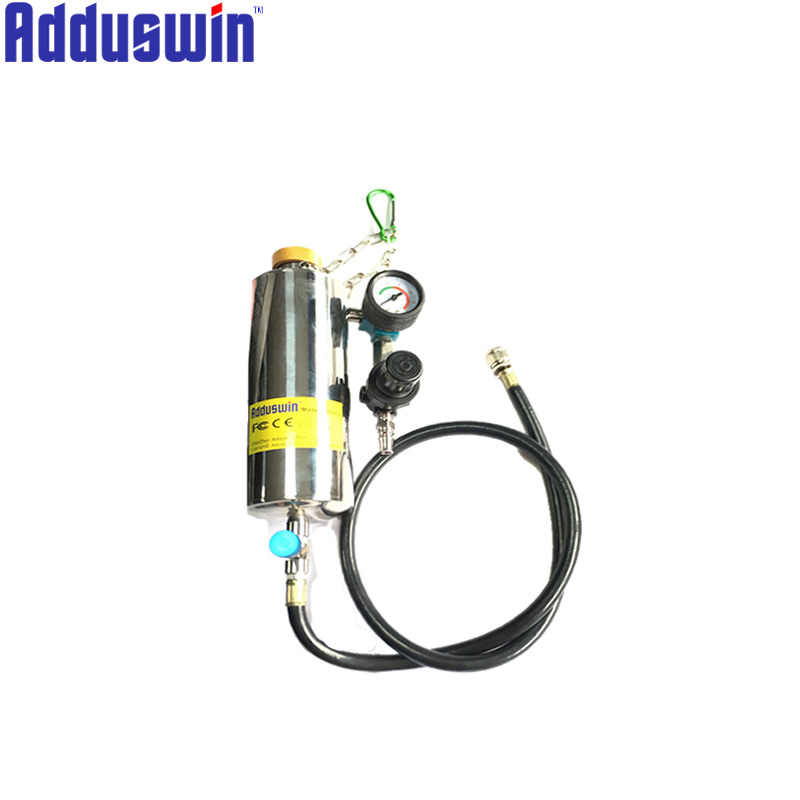 Injector Cleaner Tool Non Dismantle Bottle Repair Tool With Pressure Gauge Universal Auto Car Gasoline Fuel
