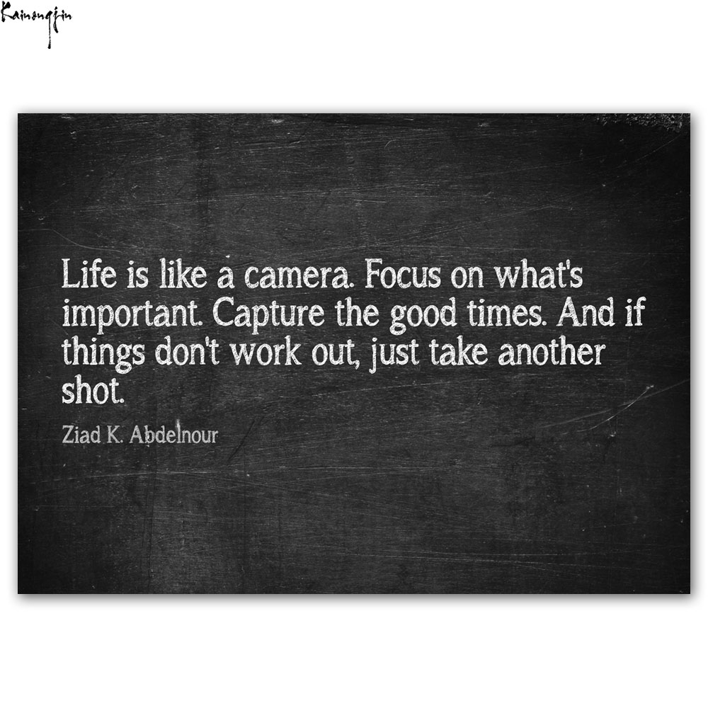 Motivational Inspirational Quotes About Life Zp226 Motivational Inspirational Quotes Life Like A Camera New Art
