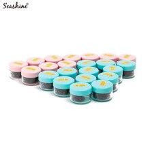 Seashine Russian Volume Lash Short Stem 3D 4D 5D 6D Loose Fans Extension 1000 Bundles In One Jar Free Shipping