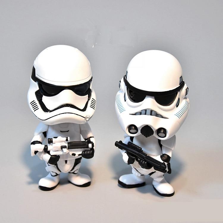 Image 2 - Carro Ornamento Para Figura de Ação de Star Wars Stormtrooper Painel Interno de Automóveis Balançando A Cabeça Da Boneca Acessórios de DecoraçãoOrnamentos   -