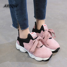 2019 Spring New Casual Shoes Canvas Mixed Colors Women