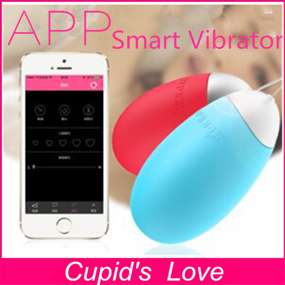 5 Speed Wireless Phone App Control Vibrator Egg, Remote -2234