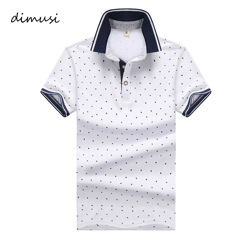 DIMUSI   Polo   Shirts Men Summer Casual Short Sleeve 95% Cotton Shirts Mens   Polo   Tees Para Hombre Brand Clothing 4XL,TA069