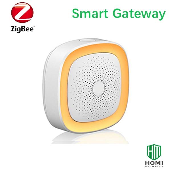 wireless zigbee ha1 2 standard protocol gateway smart home zigbee central alarm host hub in. Black Bedroom Furniture Sets. Home Design Ideas