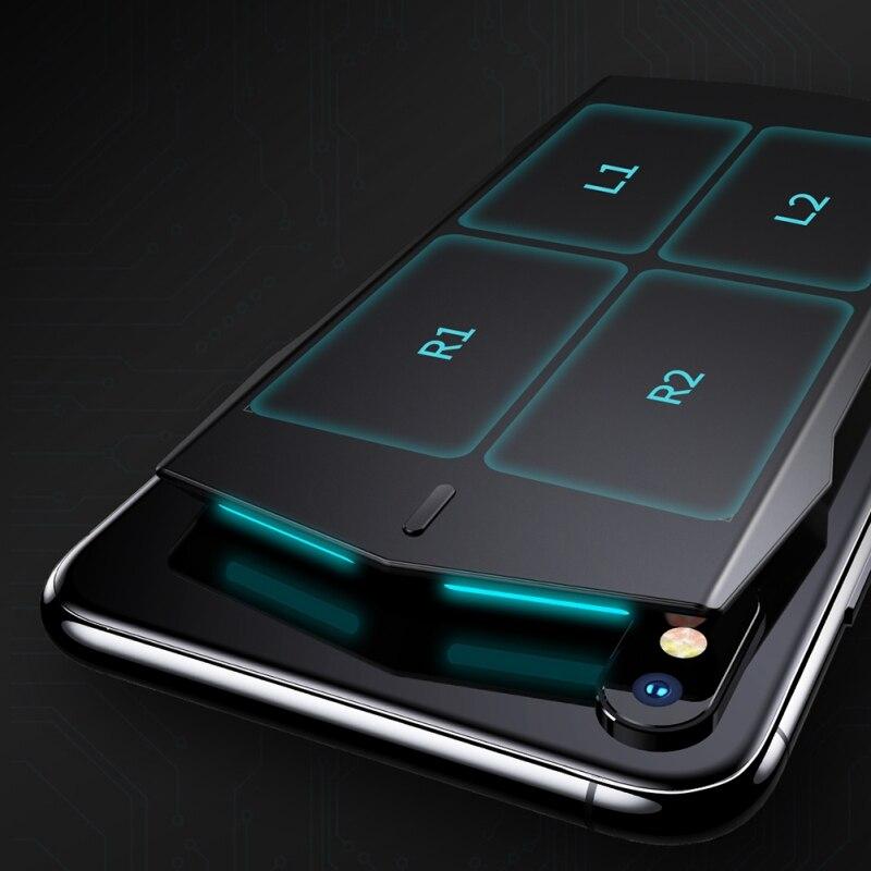Smartphone manette avec touche fond de panier Bluetooth téléphone connexion Future Science pour jeu mobile PUBG